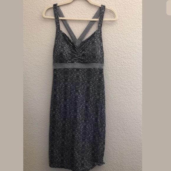 3739ac9b733 Dakini Dresses   Skirts - Dakini Small athletic dress Black Gray shelf bra